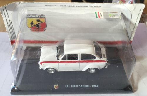 "TECA RIGIDA  BOX 2 SCALA 1//43 DIE CAST /"" OT 1600 BERLINA 1964 /"""