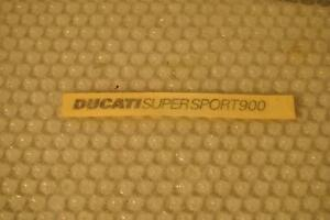 Ducati Aufkleber / Stickers OEM Original Ducati Supersport 900 Ss
