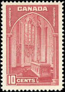 1938-Mint-H-Canada-F-VF-10c-Scott-241-Pictorial-Issue-Stamp