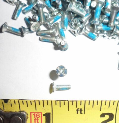 5,000 ea M2.5-0.45 x 8 mm Phillips Flat Screws with Self-Locking Drylock