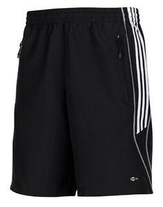 adidas-Maenner-Shorts-schwarz-Herren-Sporthose-Trainingsshort-Gr-XS-Laufhose