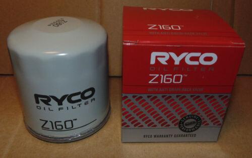 RYCO Z160 Oil Filter for Holden Commodore V8 5L Gen III VN VP VR VS VT VX VY VZ