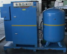 25hp Bauer Rotary Screw Air Compressor120 Gallon Tank