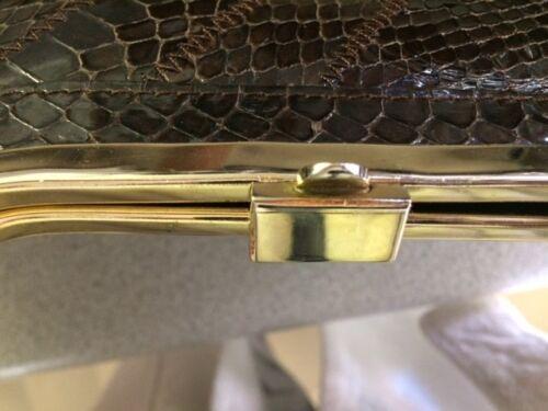 Snake TpfSuperb Purse Susan Pristine Vintage Brown Gail Dark thQCsrd