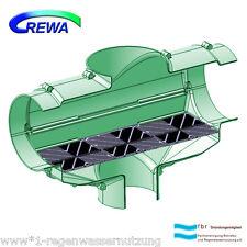 Regenwasserfilter F150XL mit 2 Edelstahlspaltsieben DN150 - Regenwassernutzung