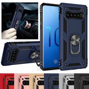 For-Samsung-Note10-Plus-5G-S10-S9-S8-Note-9-8-Magnetic-360-Ring-Stand-Case-Cover