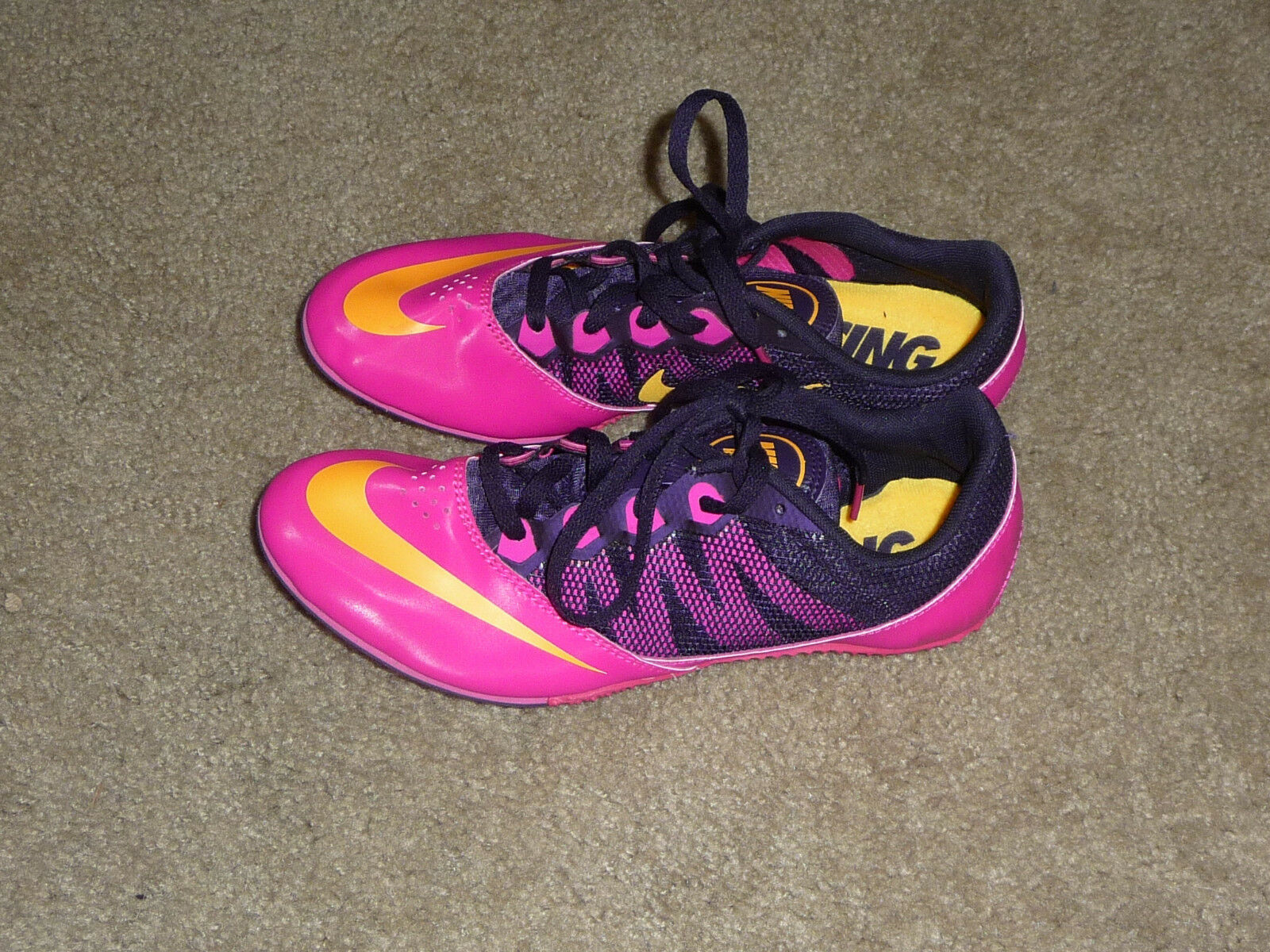 NIKE ZOOM RIVAL S 7 8.5 RACING TRACK SHOES WOMENS 8.5 7  BRAND NEW PINK FOIL 9634c0