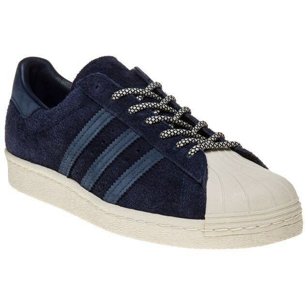 New Mens adidas Trainers Blue Superstar 80's Suede Trainers adidas Court Lace Up 125f39
