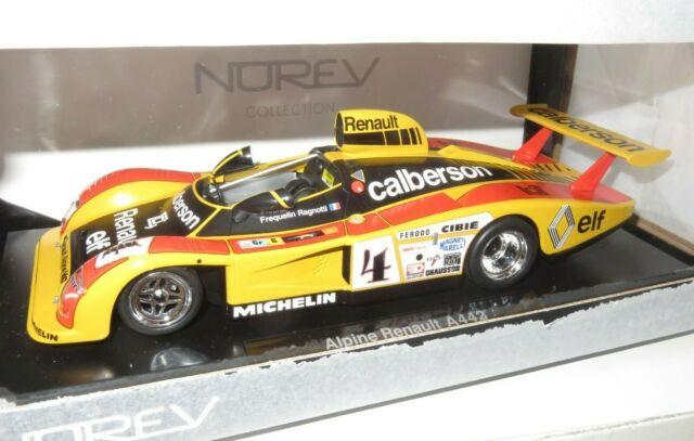 Details about  /Norev 1//18 Scale Diecast 185146 Renault Alpine A442 Le Mans 1978 Calberson