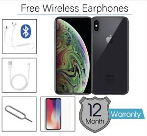 Apple-IPHONE-XS-Max-64GB-Gris-Espace-Debloque-Tres-Bon-Etat