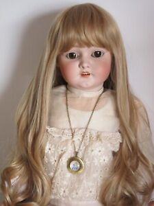 Light-blond-wig-twin-t38-40cm-15-16-old-doll-modern-ash-blond-wig