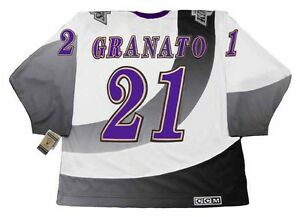 9082ca2d2 TONY GRANATO Los Angeles Kings 1995 CCM Vintage NHL Hockey Jersey | eBay