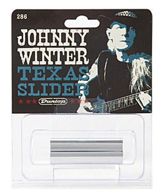 DUNLOP MODEL 286 JOHNNY WINTER TEXAS SLIDER SIGNATURE 7 Anneaux Taille Guitare Slide