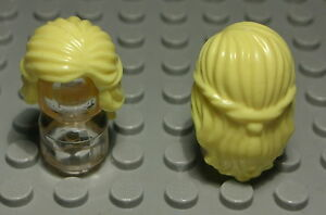129 # Lego Figur Zubehör Haar Ocker für Frau