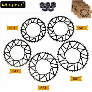 Litepro-130bcd-CNC-Hollow-Chainring-Folding-Road-Bike-Narrow-Wide-Chainwheel