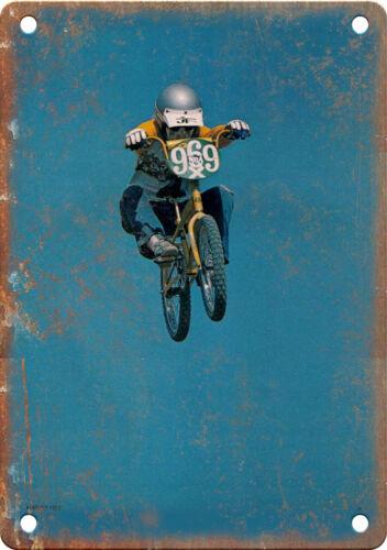 "1977 Vintage BMX Magazine Photo 10/"" x 7/"" Reproduction Metal Sign B552"