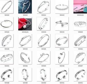 925-STERLING-SILVER-Bracelets-Men-and-women-birthday-gift-Fashion-jewelry