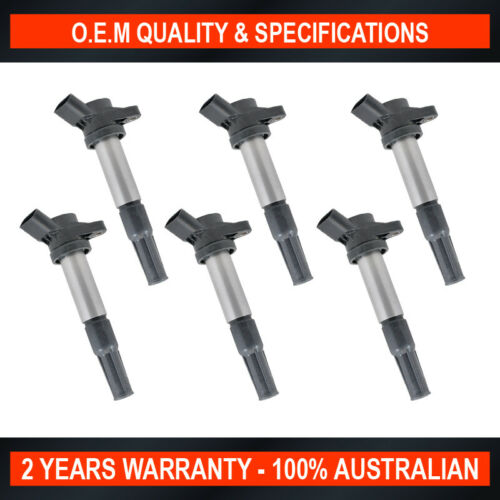 6 x New OEM Quality Ignition Coil for Holden Epica EP 2.0L Epica 2.5L
