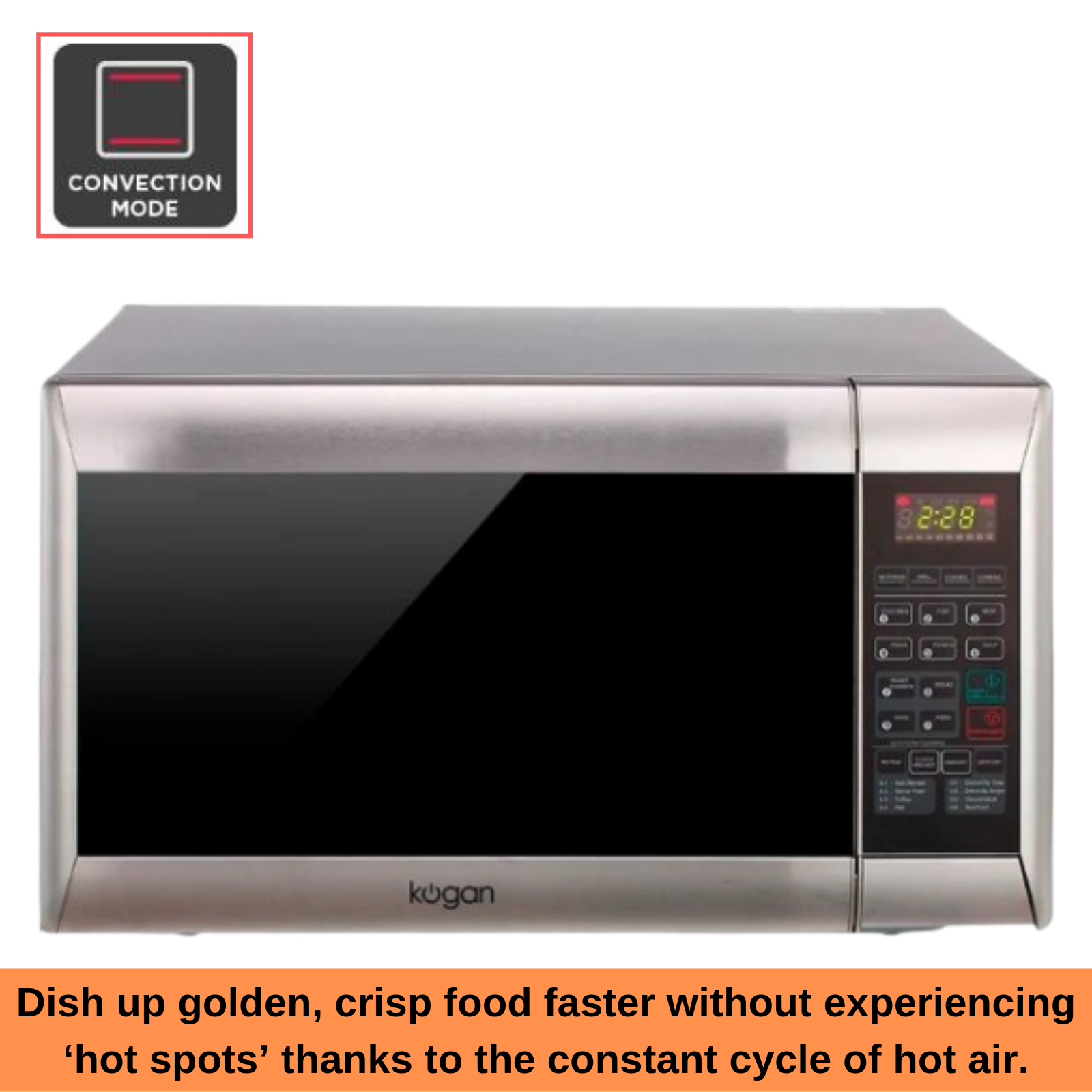Kogan Convection Microwave Oven With Grill 32l Kitchen