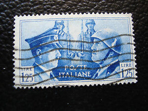 Italy-Stamp-Yvert-and-Tellier-N-437-Obl-A12-Stamp-Italy-Z