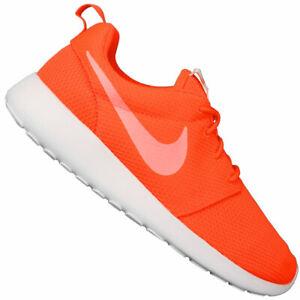 Nike Roshe One Damen-Turnschuhe Baskets Chaussures de Sport Total Crimson