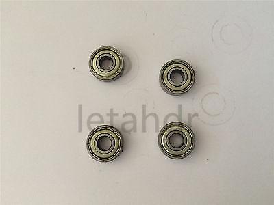 5/10/20pcs Metal Sealed Ball Bearing 603ZZ To 609ZZ Deep Groove Bearings