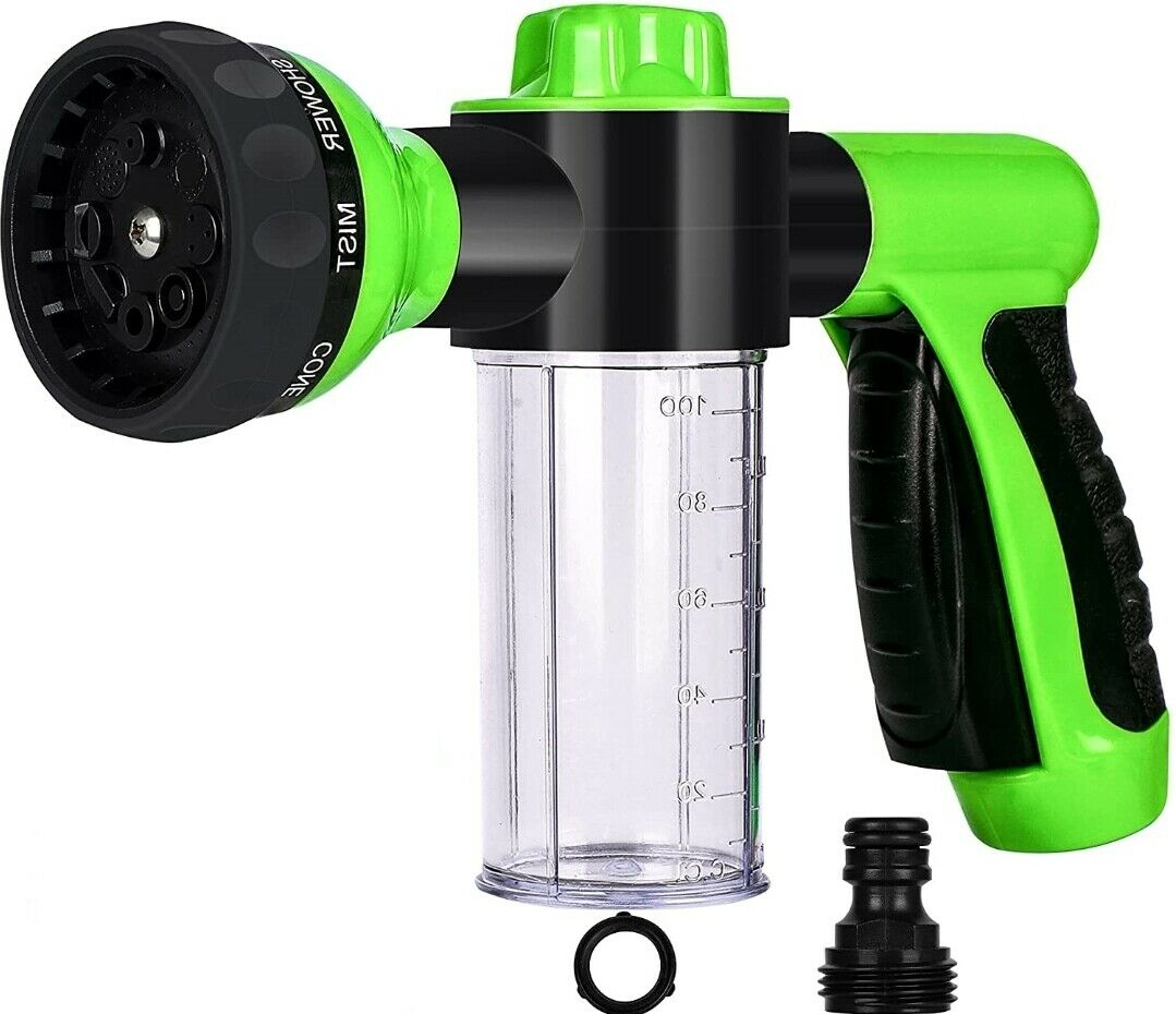 Pressure Hose Nozzle Foam Gun Garden Watering Car Wash spray pet Plant Sprinkler