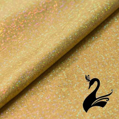 Spandex Lycra 4W Stretch Fabric Price per 50cm Fog//Mystique Sparkly Jewels
