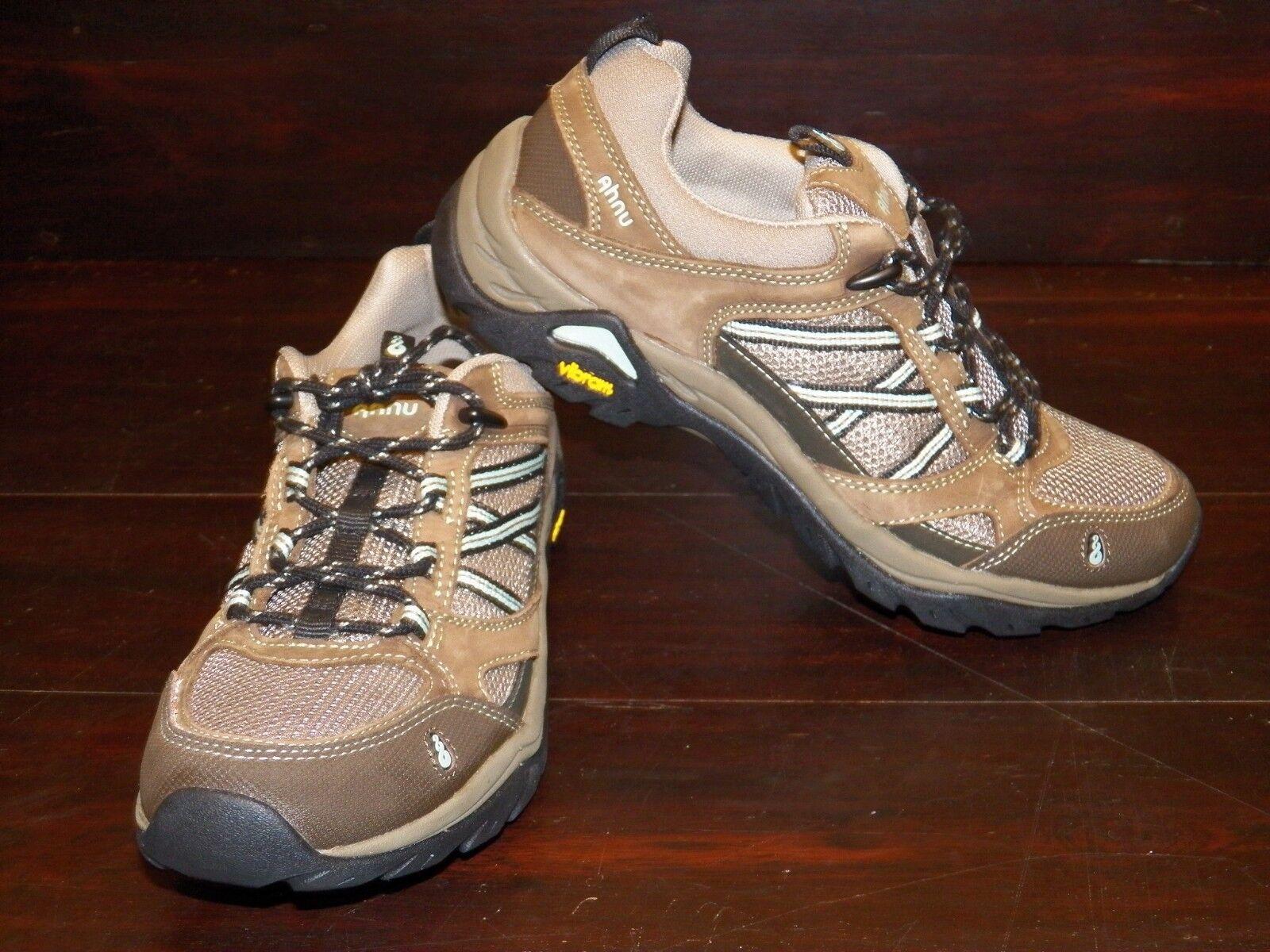 NEU Damenschuhe Ahnu Sequoia Braun Hiking Trail Stiefel Schuhes Vibram Soles  ALL SIZES