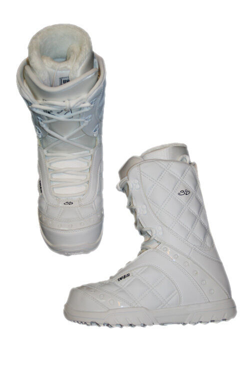 Thirtytwo Exus Women's Snowboard Boots, White, Sizes 7.5