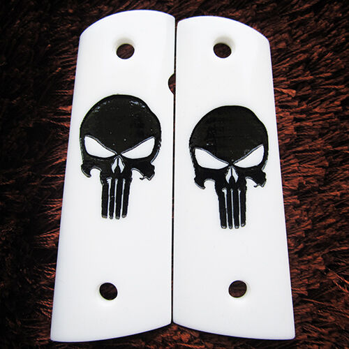 HOT NEW RESIN GRIPS FOR COLT 1911 KIMBER CLONE TAURUS PUNISHER STYLE FULL SIZE