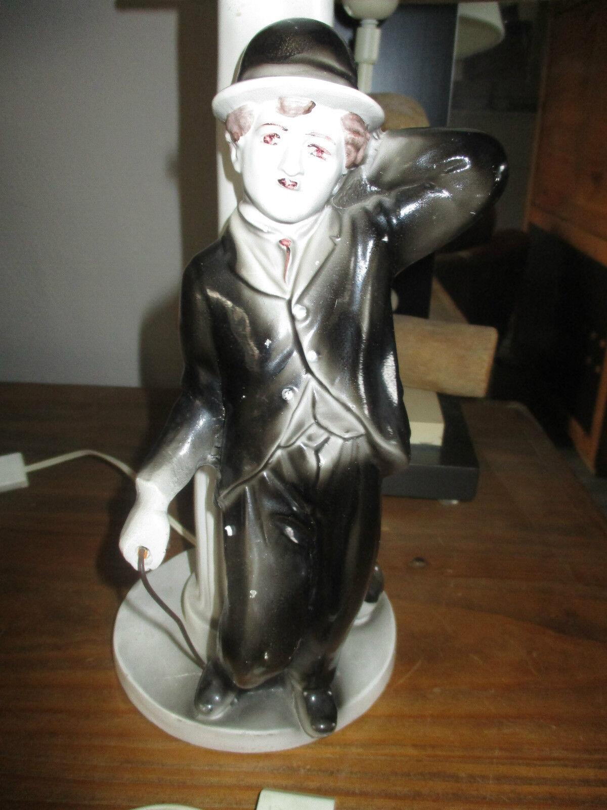 Das è mich cin é ma vintage ancienne lampe charlie chaplin grand mod è le formacion (1970)