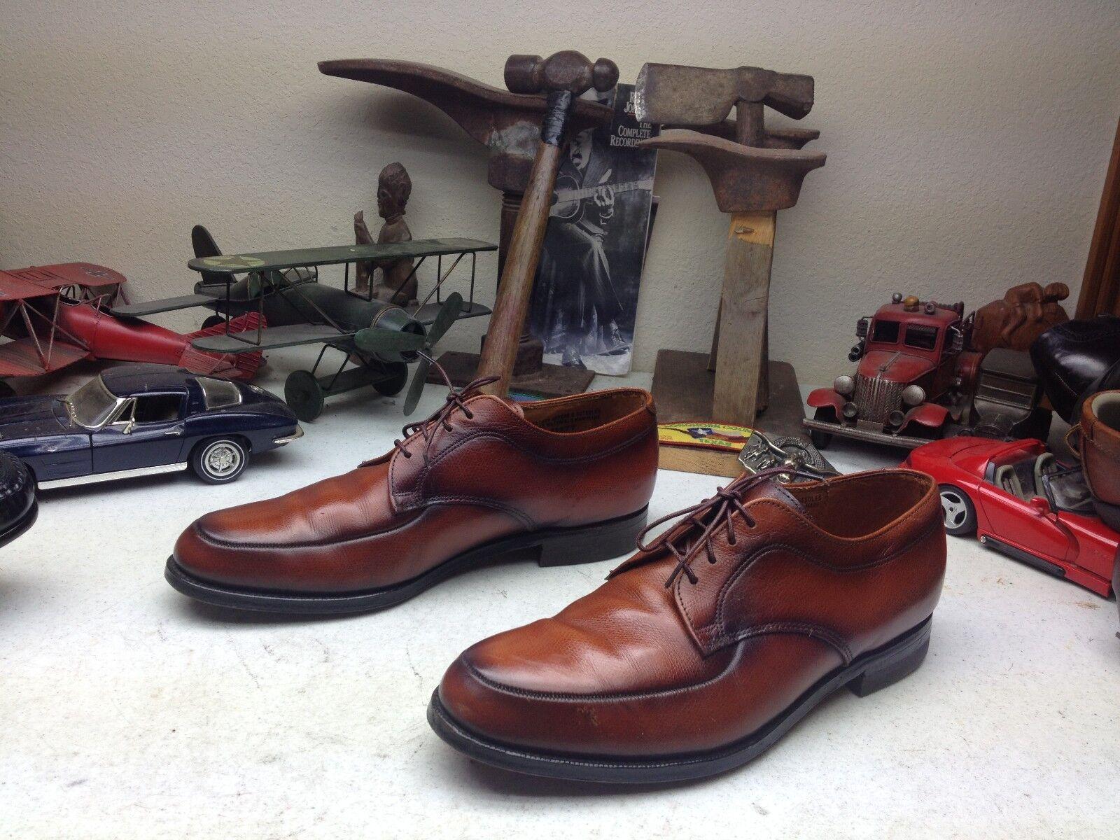 risparmia il 50% -75% di sconto VINTAGE VINTAGE VINTAGE USA JARMAN RUSTIC Marrone LEATHER POWER OXFORD BUSINESS scarpe 11 D  più economico