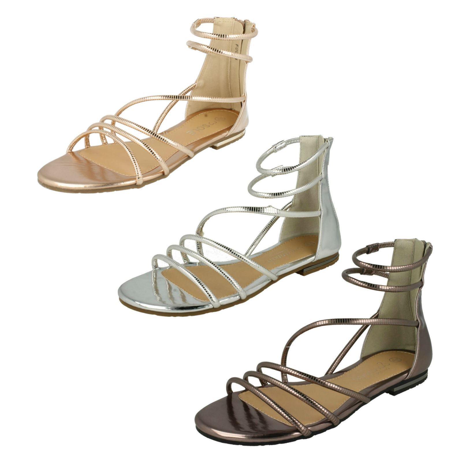 Ladies By F0R974 Gladiator Sandals By Ladies Savannah Collection Retail Price 5c49c2