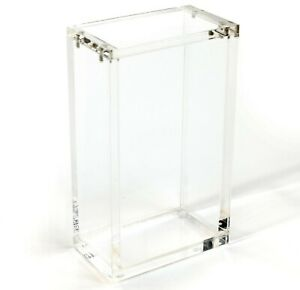 Small JAPANESE Pokemon Box MAGNETIC Protective Booster Case - Clear Acrylic CH