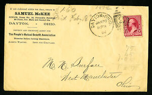 US-Samuel-McKee-Office-Advertising-Stamp-Cover