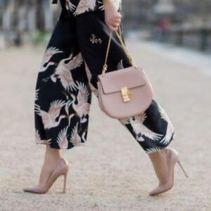 Pantaloni S Imprimᄄᆭ 8 Black Donna Bloggers Culottes Petit Birds Zara LUzMjGqVpS