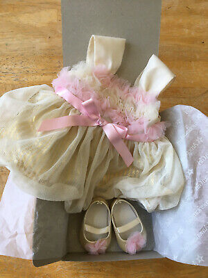American Girl Bitty Baby Sugar And Spice Dress Outfit Retired