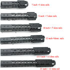 7,9,10,12,13.5,15 inch NSR Free Float Rail Mount Keymod Handguard /Rail Sections