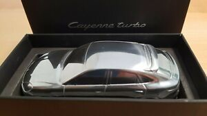 Porsche Macan Turbo Chrome model scale 1:43 Paperweight