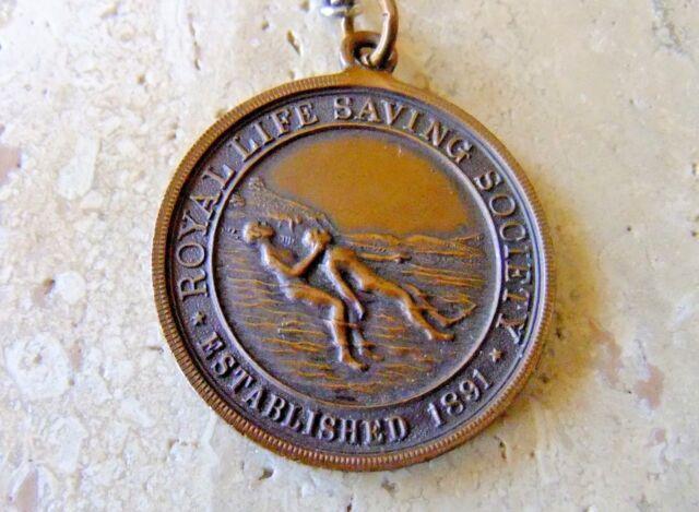Royal Life Savings Society - Bronze Medallion - 1935