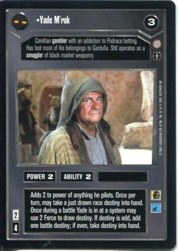 Star Wars CCG Coruscant Uncommon Yade Mrak