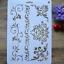 DIY-Craft-Layering-Flower-Brick-Stencils-For-Walls-Painting-Scrapbooking-Stamp thumbnail 1