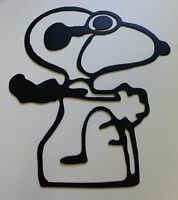 Red Baron Snoopy Metal Wall Art Decor