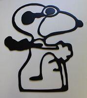 Red Baron Snoopy Metal Wall Art Decor