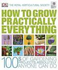 RHS How to Grow Practically Everything by Zia Allaway, Lia Leendertz (Hardback, 2010)