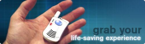 PERSONAL EMERGENCY MEDICAL ALARM  w//Waterproof Pendant