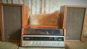 Sony-Stereo-Music-System-HP-610-with-two-speakers-Tested-and-working