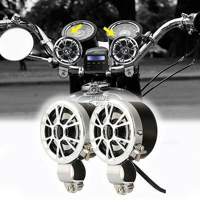 Motorcycle Handlebar Speakers For Honda VT Shadow Ace Classic 500 700 750 1100