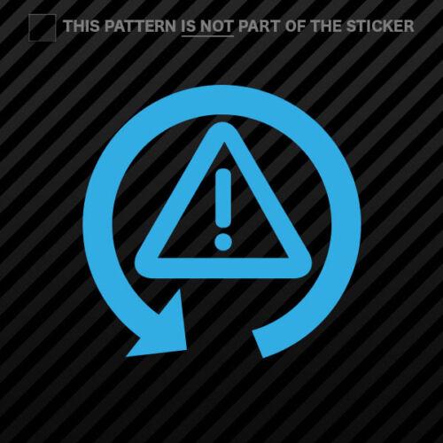 DSC Off Dynamic Stability Sticker Self Adhesive Vinyl 2x